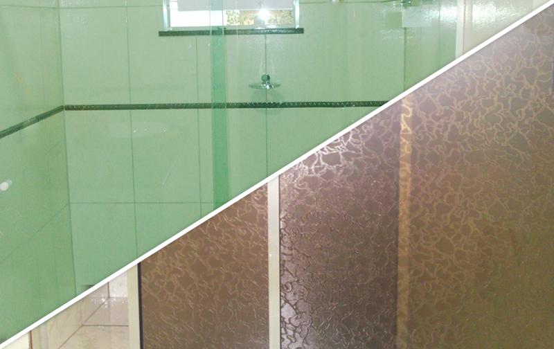 Box de vidro ou acrílico?