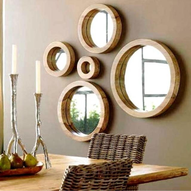 conjunto de espelhos
