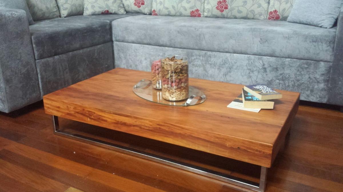 mesa de centro pés aço