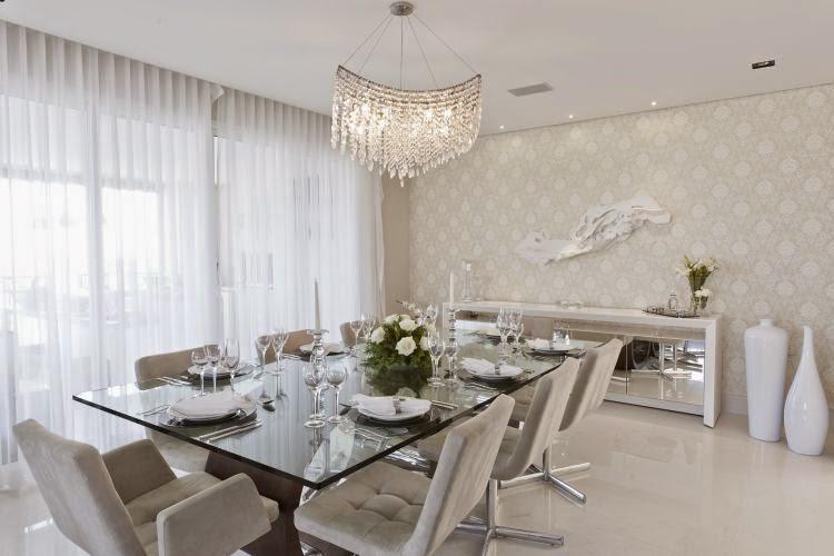 sala-jantar-branca-bege-tampo-vidro