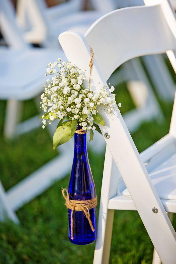 garrafa de vidro cerimonia casamento