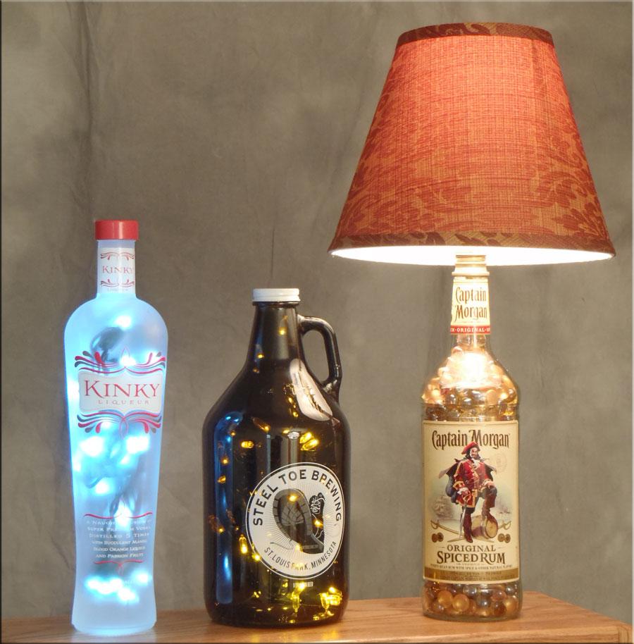 garrafa luminaria