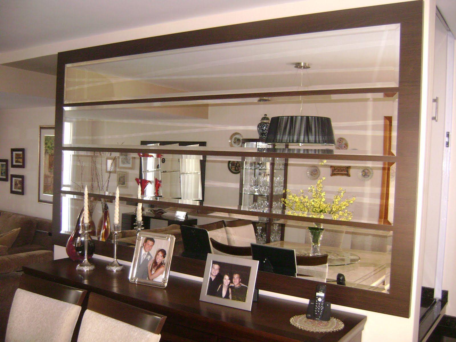 Tudo O Que Voc Precisa Saber Sobre Espelho Bisot Ps Do Vidro -> Sala De Jantar Pequena Com Espelho Na Parede