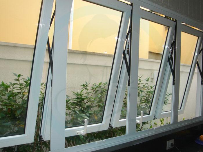 tipos de janelas de vidro