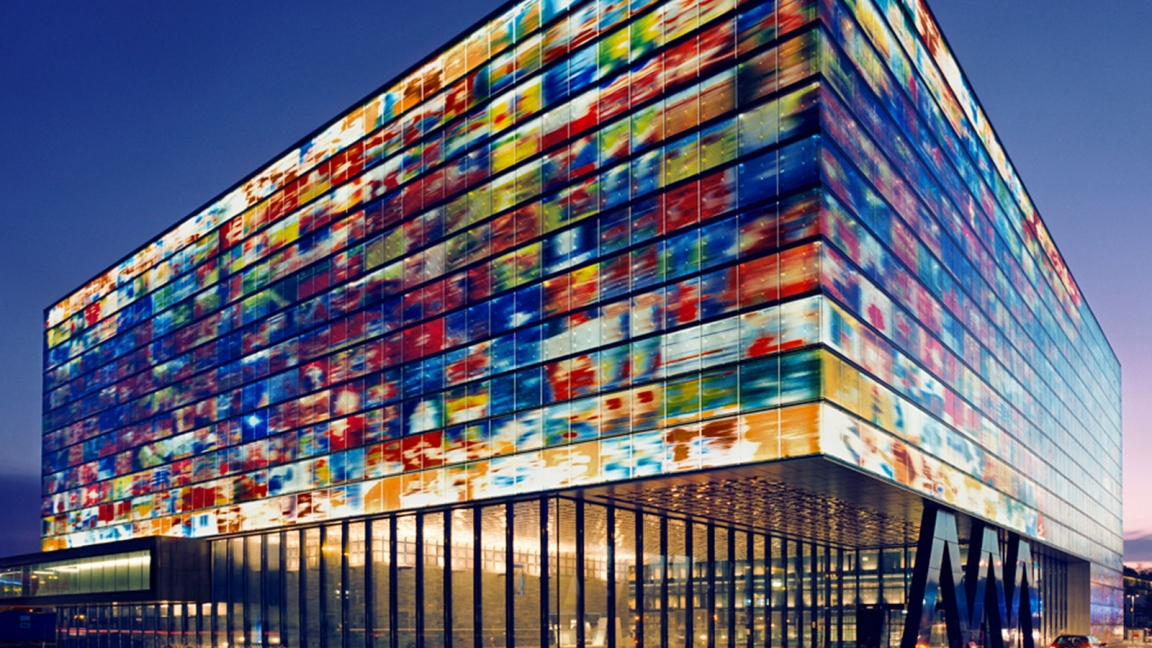 prédios de vidro vision