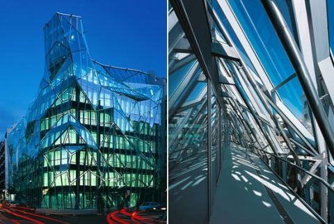 prédios de vidro bilbau