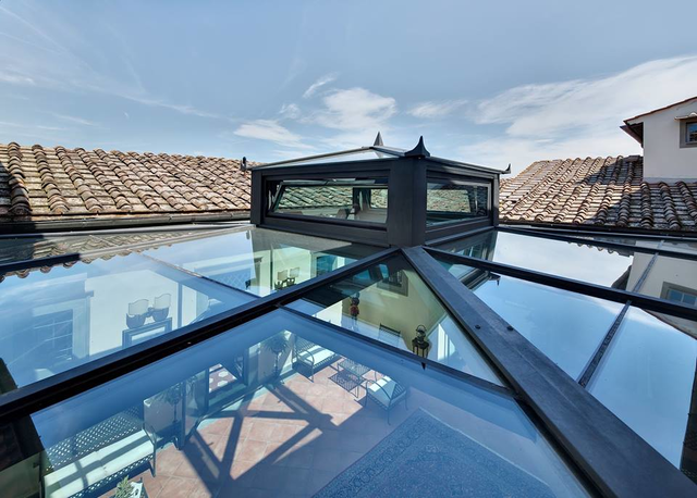 claraboia telhado