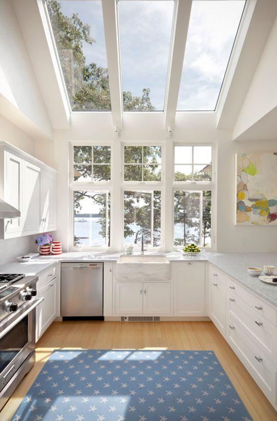 janela de vidro temperado cozinha