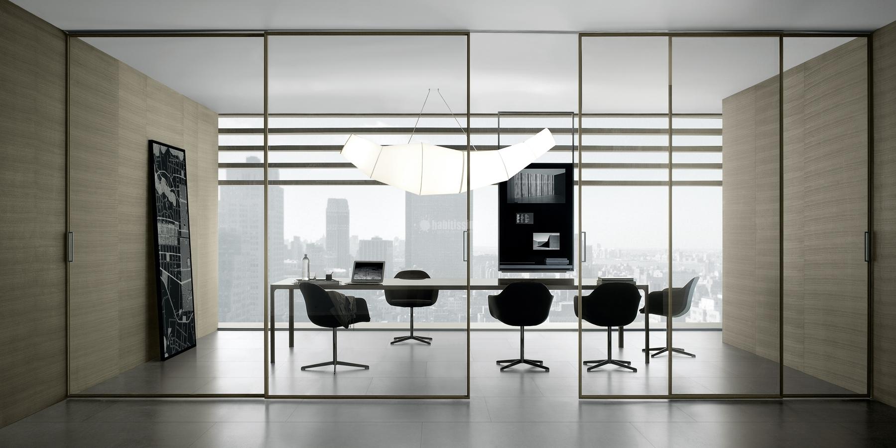 porta de vidro escritório