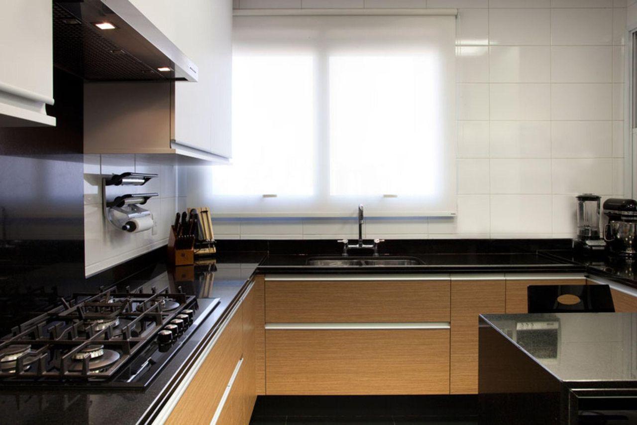 cozinha janela de vidro