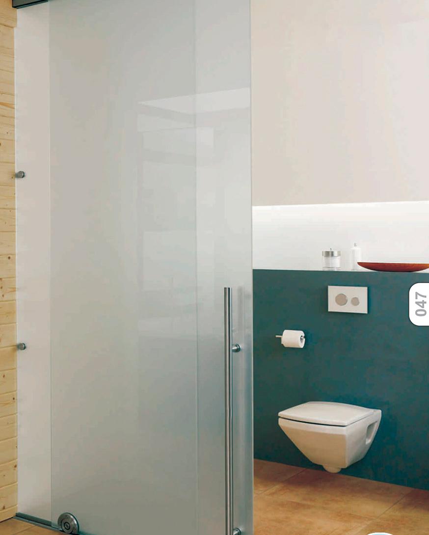 porta de vidro banheiro