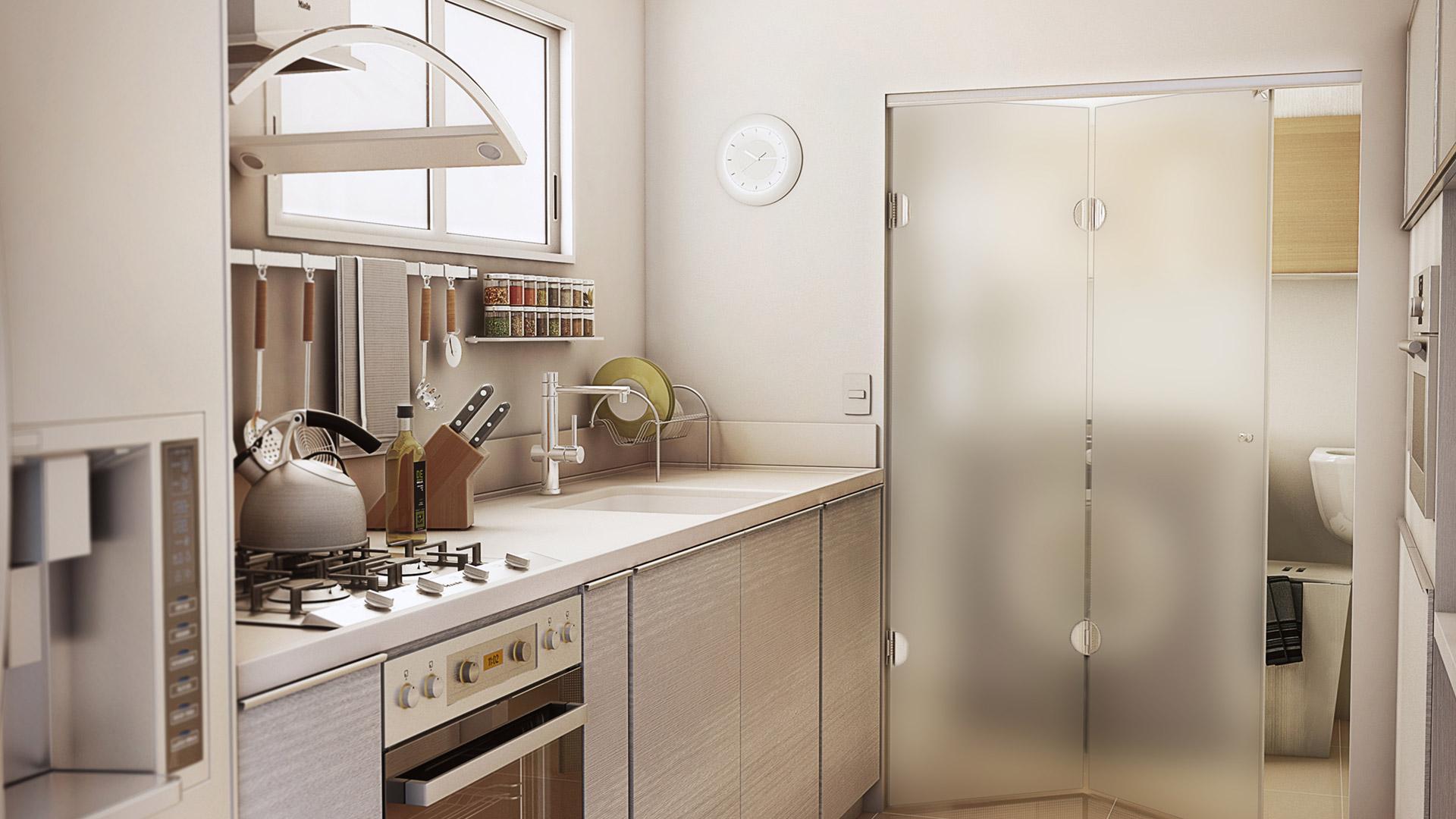 Porta De Vidro Para Cozinha Conhe A As Melhores Formas De Us La  ~ Divisoria Para Cozinha E Sala