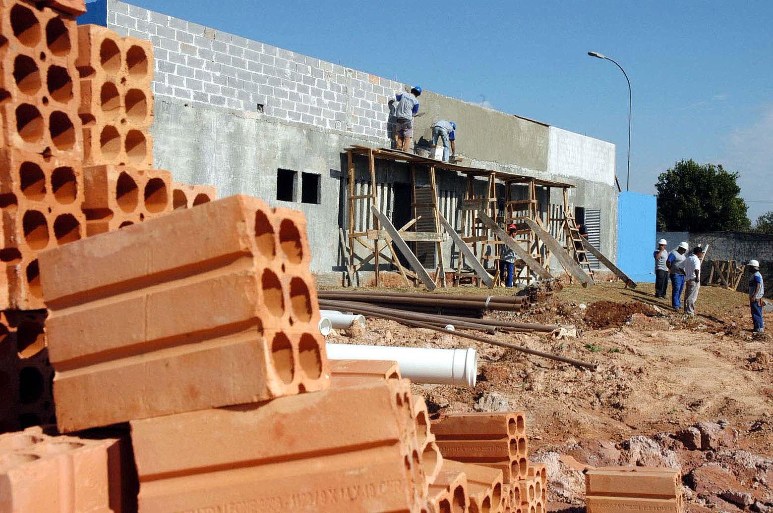 construção obra