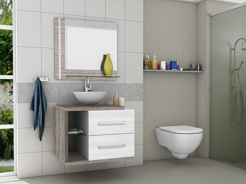 espelho em cima do lavabo - tipos de espelhos