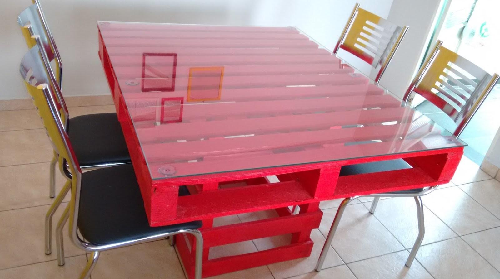 Mesa De Pallet 6 Ideias Criativas Para Voc Repaginar Seu  ~ Divisoria Barata Para Quarto E Quarto Feito De Paletes