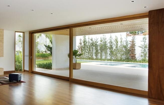 fechamento porta de vidro temperado pscina