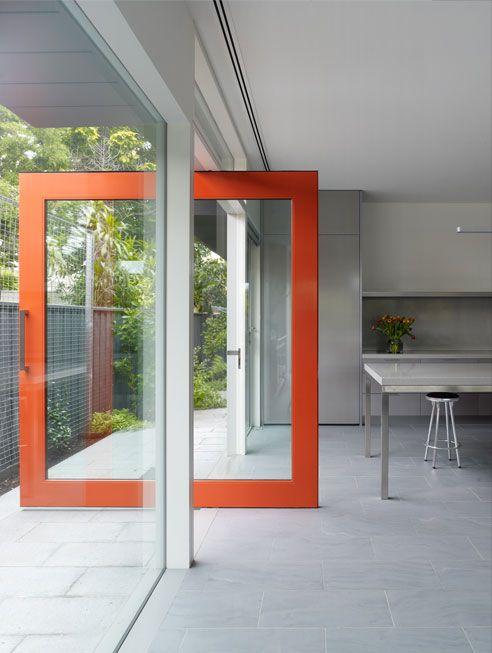 Porta de vidro temperado modelo 3