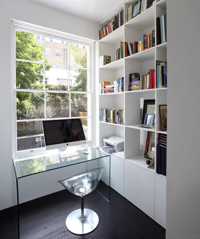 mesa de vidro escritório