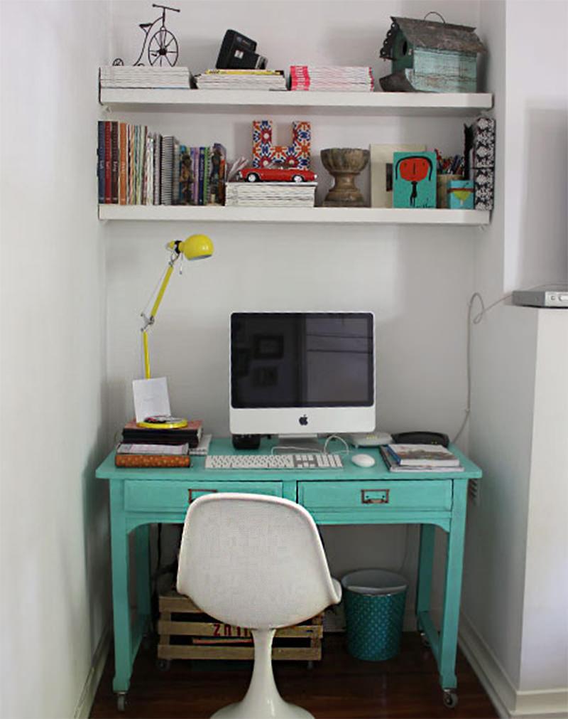 escritório minimalista