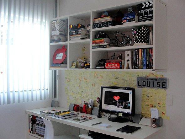caixa organizadora e mural