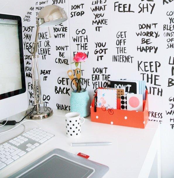 adesivo parede escritório