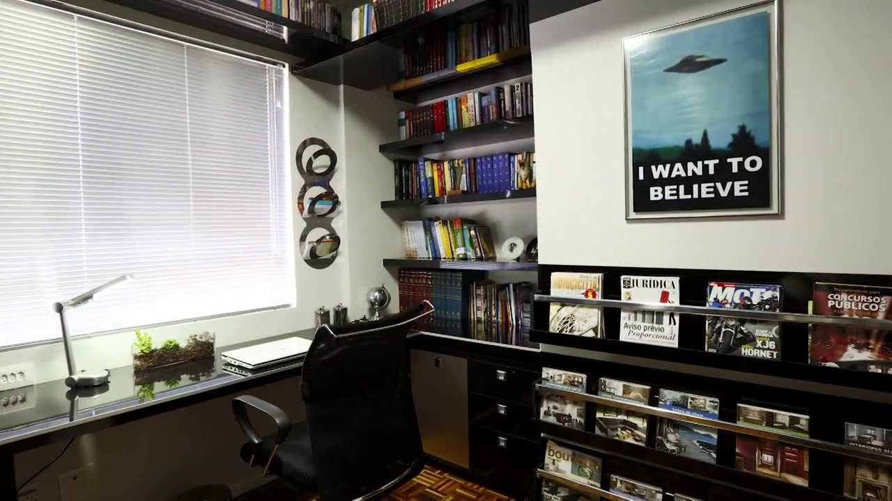 parede escritório